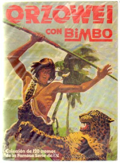 ORZOWEI. BIMBO. ALBUM VACIO A-ALB-851 (Coleccionismo - Cromos y Álbumes - Álbumes Incompletos)