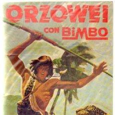 Coleccionismo Álbumes: ORZOWEI. BIMBO. ALBUM VACIO A-ALB-851. Lote 113464791