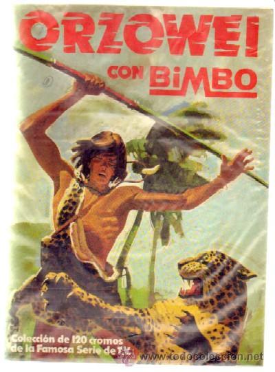 ORZOWEI. BIMBO. ALBUM VACIO A-ALB-852 (Coleccionismo - Cromos y Álbumes - Álbumes Incompletos)