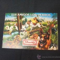 Coleccionismo Álbumes: ALBUM VACIO - TUS AMIGOS LOS PERROS - PANRICO - . Lote 38683212