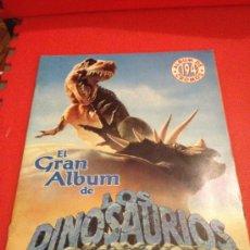 Coleccionismo Álbumes: ALBUM DE CROMOS EL GRAN ALBUM DE LOS DINOSAURIOS. Lote 38865609