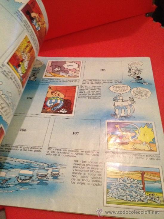 Coleccionismo Álbumes: ALBUM DE CROMOS ASTÉRIX PANINI 1987 - Foto 5 - 38865690