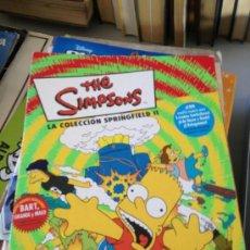 Coleccionismo Álbumes: ALBUM THE SIMPSONS LA COLECCIÓN SPRINGFIELD II PANINI CON 56 CROMOS. Lote 39054800