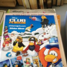 Coleccionismo Álbumes: ALBUM DISNEY CLUB PENGUIN 24 CROMOS PANINI. Lote 39054883
