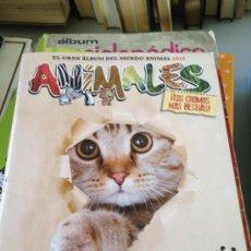 Coleccionismo Álbumes: ALBUM ANIMALES 2012 PANINI CONTIENE 95 CROMOS . Lote 39054982
