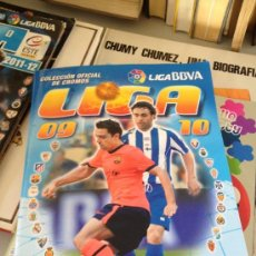 Coleccionismo Álbumes: ALBUM LIGA 09-10 LIGA BBVA CAMPEONATO NACIONAL DE LIGA PANINI VACIO. Lote 39055768