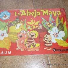 Coleccionismo Álbumes: ALBUM DE CROMOS 'LA ABEJA MAYA', (EDICIONES QUELCOM,1978) PLANCHA PERFECTO . Lote 39087268
