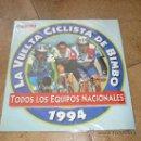 Coleccionismo Álbumes: ALBUM PLANCHA 1994 BIMBO LA VUELTA CICLISTA CICLISMO INDURAIN ZULLE DELGADO JALABERT PERFECTO . Lote 39087575