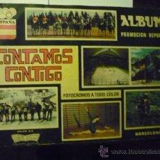 Coleccionismo Álbumes: ALBUM CROMOS CONTAMOS CONTIGO. Lote 39239564
