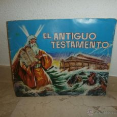 Coleccionismo Álbumes: ALBUM DE CROMOS -EL ANTIGUO TESTAMENTO- AÑO 1968 INCOMPLETO FALTAN 12 DE LOS 247, 111-1. Lote 39346700