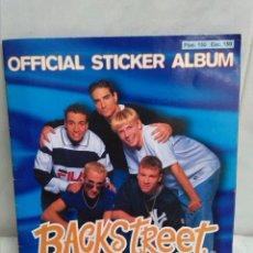 Coleccionismo Álbumes: BACKSTREET BOYS ALBUM OFICIAL AÑO 1997. Lote 39361252