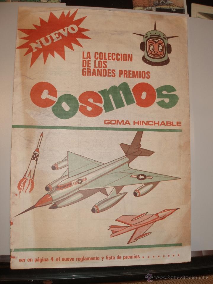 ALBUM CHICLE NEGRO COSMOS (Coleccionismo - Cromos y Álbumes - Álbumes Incompletos)