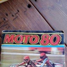 Coleccionismo Álbumes: ALBUM DE CROMOS MOTO 80. Lote 39423723