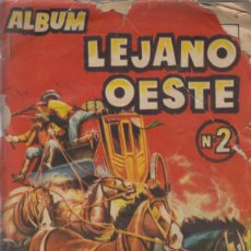 Coleccionismo Álbumes: LEJANO OESTE 2. EDIGESA 1957. ALBUM CON 216 CROMOS.. Lote 39478119