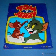 Coleccionismo Álbumes: ALBUM TOM Y JERRY. FHER PANRICO, 1980. BIEN CONSERVADO. . Lote 39485804