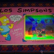 Coleccionismo Álbumes: LOS SIMPSONS INCOMPLETO FALTAN 15 CROMOS APROX. PANINI 1991. . Lote 39768297