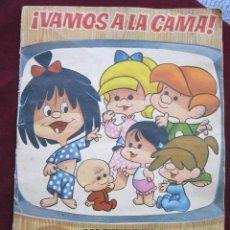 Coleccionismo Álbumes: ÁLBUM ¡VAMOS A LA CAMA! FAMILIA TELERIN SEMI COMPLETO (A FALTA DE 6 CROMOS) BRUGUERA 1965 TEBENI. Lote 39862964