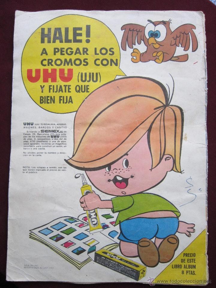 Coleccionismo Álbumes: Álbum ¡Vamos a la cama! Familia Telerin Semi completo (a falta de 6 cromos) Bruguera 1965 tebeni - Foto 2 - 39862964