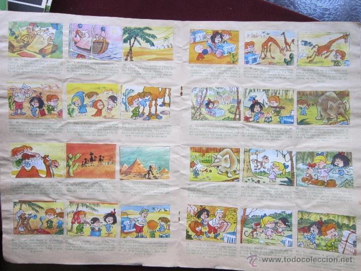 Coleccionismo Álbumes: Álbum ¡Vamos a la cama! Familia Telerin Semi completo (a falta de 6 cromos) Bruguera 1965 tebeni - Foto 3 - 39862964
