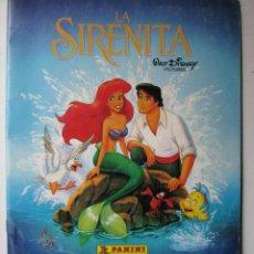 Coleccionismo Álbumes: LA SIRENITA - DISNEY - PANINI - LE FALTAN 83 CROMOS. Lote 40068019
