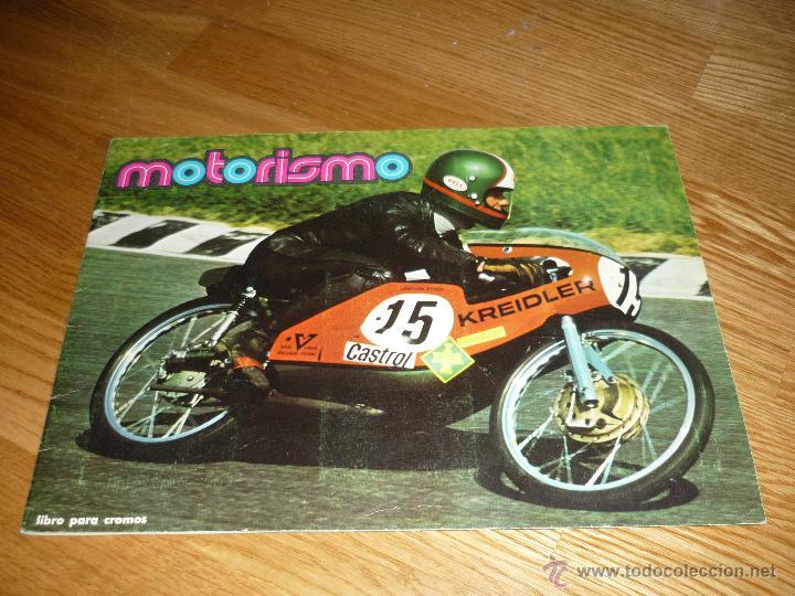 ALBUM COMPLETO MOTOS MOTORISMO MOTORISMO AÑOS 70 FHER (Coleccionismo - Cromos y Álbumes - Álbumes Incompletos)