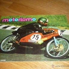 Coleccionismo Álbumes: ALBUM COMPLETO MOTOS MOTORISMO MOTORISMO AÑOS 70 FHER. Lote 40180372