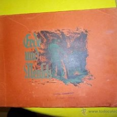 Coleccionismo Álbumes: EL MUNDO Y EL HOMBRE AÑO 1932 COMPLETO A FALTA DE 3 CROMOS SOBRE LOS INVENTOS Y LA EVOLUCION MUY BUE. Lote 40300290