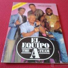 Coleccionismo Álbumes: ALBUM DE CROMOS EL EQUIPO A THE A TEAM EDICIONES ESTE 1985 DIFICIL ESCASO RARO SERIE TVE AÑOS 80. Lote 40340165