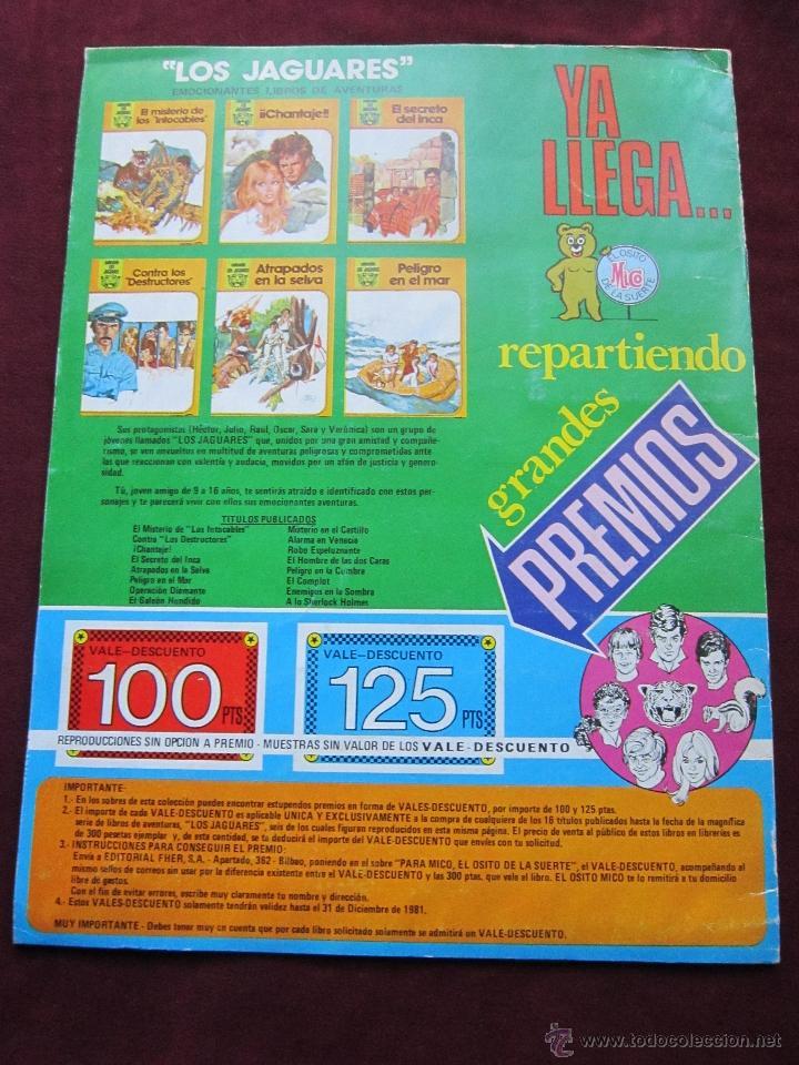 Coleccionismo Álbumes: Álbum de cromos Superheroes. Editorial Fher 1981. Incompleto. tebeni. MBE - Foto 2 - 40402347