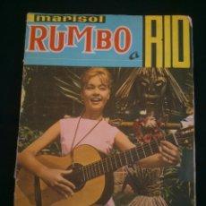 Coleccionismo Álbumes: MARISOL RUMBO A RIO.- EDITORIAL FHER.- AÑO 1963.- 196 CROMOS DE 200 .. Lote 40414142