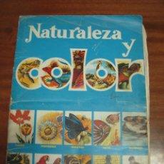 Coleccionismo Álbumes: ALBUM NATURALEZA Y COLOR. Lote 40542645