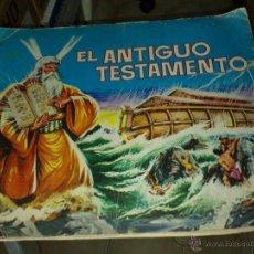 Coleccionismo Álbumes: EL ANTIGUO TESTAMENTO 1968 (FALTAN 44 DE 247 CROMOS). Lote 40949484