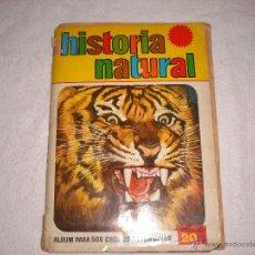 Coleccionismo Álbumes: HISTORIA NATURAL , ED BRUGUERA 1967 . Lote 41057642