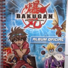 Coleccionismo Álbumes: BAKUGAN BATTLE BRAWLERS 2010 ALBUM FICHERO OFICIAL 27 STAKS IMANES. Lote 41068958