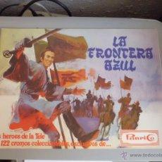 Coleccionismo Álbumes: ALBUM LA FRONTERA AZUL - PANRICO.. Lote 41096179