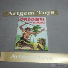Coleccionismo Álbumes: ALBUM DE CROMOS ORZOWEI DE CON BIMBO. Lote 41132456
