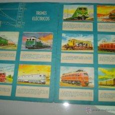 Coleccionismo Álbumes: ANTIGUO ALBUM * HISTORIA DE LA LOCOMOTORA* EDICCIONES TORAY DEL AÑO 1965 . Lote 41445858