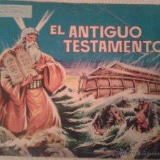 Coleccionismo Álbumes: ALBUM DE CROMOS EL ANTIGUO TESTAMENTO. AÑO 1968. EN BUEN ESTADO. Lote 41481362