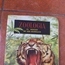 Coleccionismo Álbumes: ALBUN ZOOLOGIA: EL MUNDO DE LOS ANIMALES. Lote 41561201