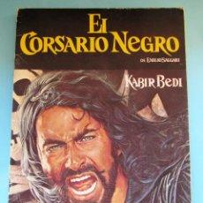 Coleccionismo Álbumes: ÁLBUM INCOMPLETO. EL CORSARIO NEGRO. PANRICO, 1977.. Lote 41691454