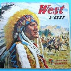 Coleccionismo Álbumes: WEST. L'OEST. FIGURINE PANINI. COLECCIÓN EN CATALÁN.. Lote 41725762