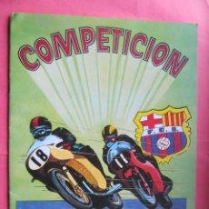 Coleccionismo Álbumes: ÁLBUM VACÍO. COMPETICIÓN. COMIC ROMO. BARCELONA, 1982.. Lote 41945186