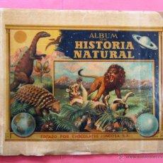 Coleccionismo Álbumes: ÁLBUM VACÍO. ÁLBUM DE HISTORIA NATURAL. III TOMO. ASIA. CHOCOLATE CHOCOLATES JUNCOSA, 1956.. Lote 42100242