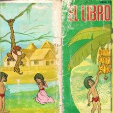 Coleccionismo Álbumes: ALBUM EL LIBRO DE LA SELVA DE FHER AÑO 1979 DE WALT DISNEY INCOMPLETO CON 98 CROMOS . Lote 42141425