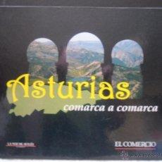 Coleccionismo Álbumes: ASTURIAS COMARCA A COMARCA. COLECCIONABLE DE EL DIARIO EL COMERCIO CASI COMPLETO. CON LOS CROMOS-FOT. Lote 42224062