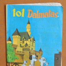 Coleccionismo Álbumes: ÁLBUM DE LOS 101 DÁLMATAS. EDITORIAL FHER. AÑO 1962. Lote 42277945