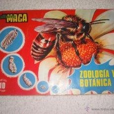 Coleccionismo Álbumes: ZOOLOGIA Y BOTANICA ALBUM MAGA. Lote 42320780