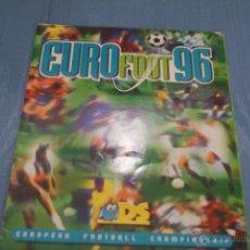 Coleccionismo Álbumes: ALBUM INCOMPLETO EURO FOOT 96 DE DS. Lote 42326561