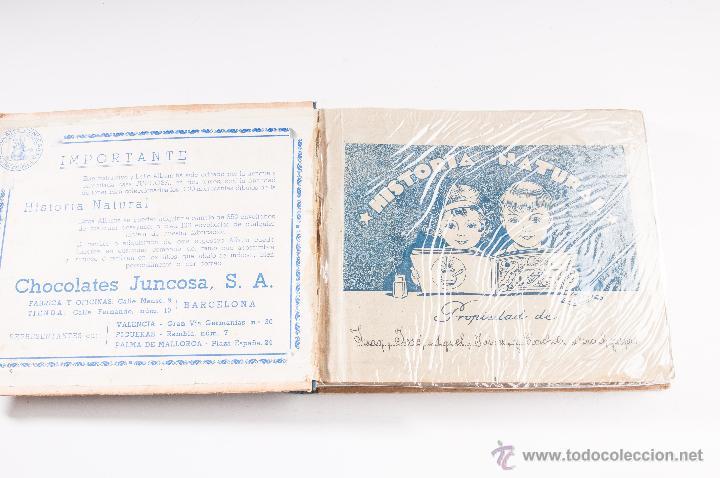 Coleccionismo Álbumes: ALBUM DE HISTORIA NATURAL,INCONPLETO COLECCION DE CHOCOLATE JUNCOSA - Foto 2 - 42356792