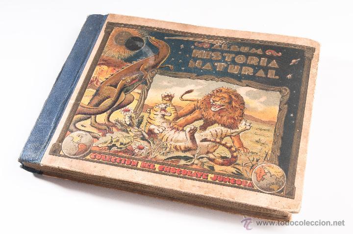 Coleccionismo Álbumes: ALBUM DE HISTORIA NATURAL,INCONPLETO COLECCION DE CHOCOLATE JUNCOSA - Foto 7 - 42356792